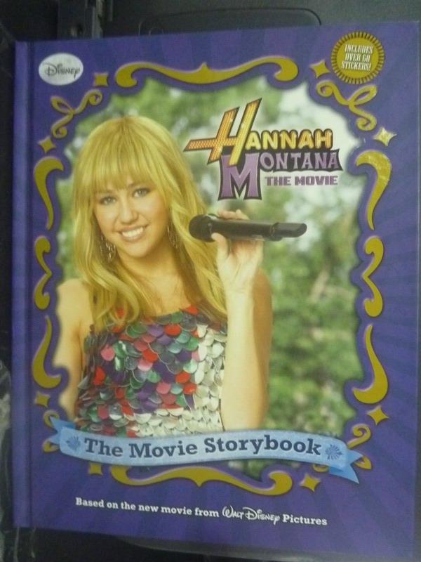 【書寶二手書T5/影視_ZEB】Hannah Montana The Movie Storybook