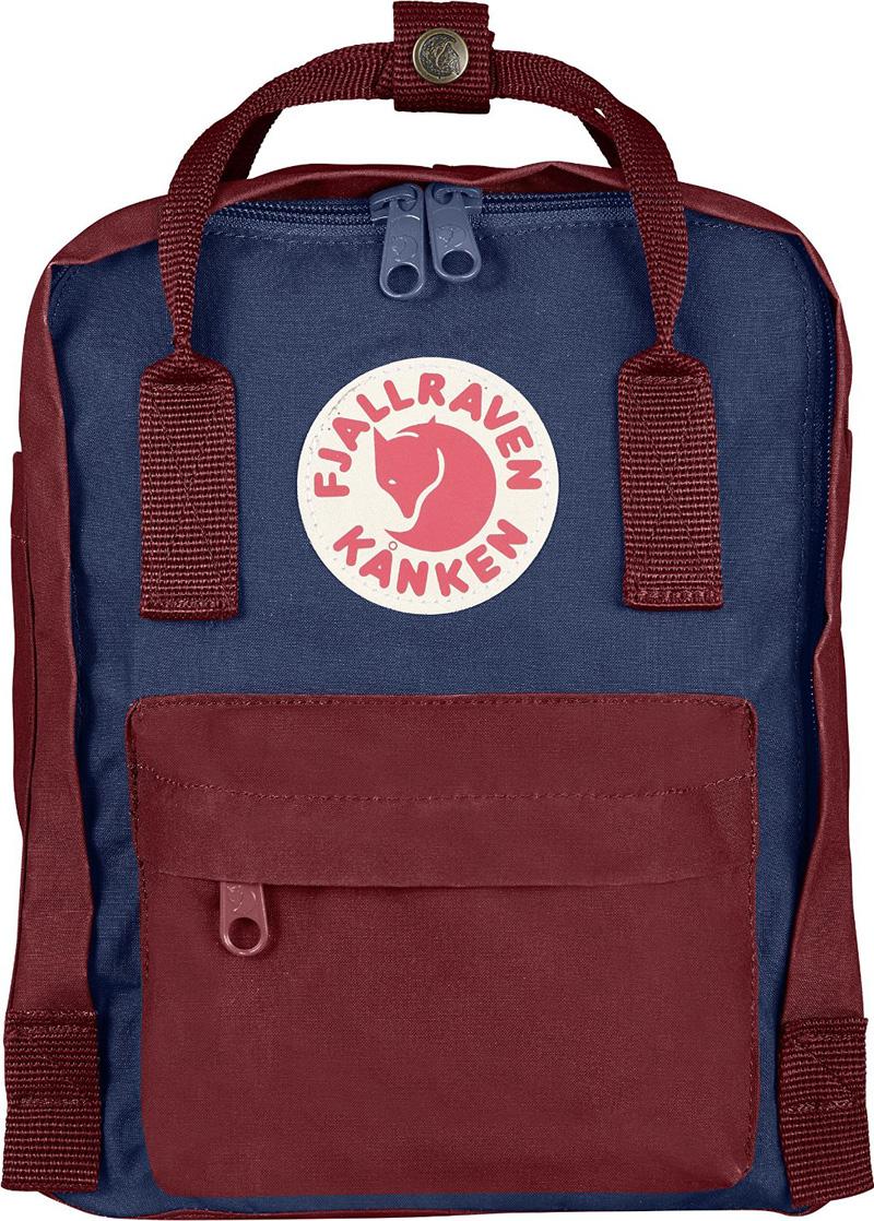 【鄉野情戶外專業】 Fjallraven |瑞典|  小狐狸 Kanken Mini 方型書包 方型背包 後背包 (皇家藍/紅) _23561
