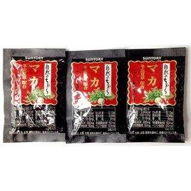 SUNTORY三得利 瑪卡 冬蟲夏草菌絲體萃取物 配方 3包◆德瑞健康家◆