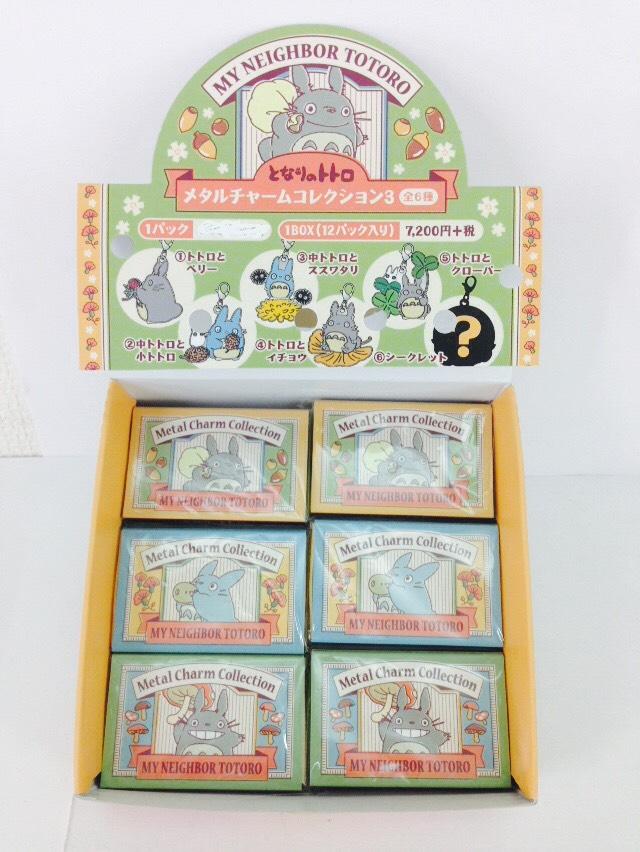 【真愛日本】16040400002限定火柴盒掛勾3代-隨機6款    龍貓 TOTORO 豆豆龍  鎖圈 鑰匙圈 隨機出貨