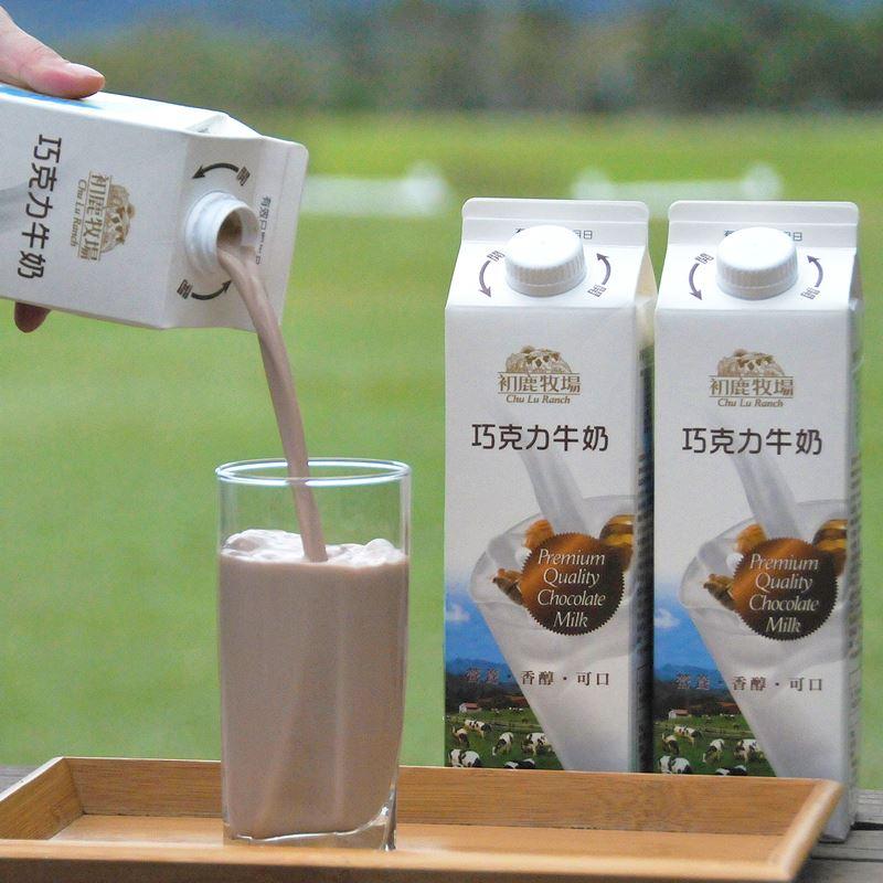 初鹿牧場|巧克力牛奶(946ml/瓶)