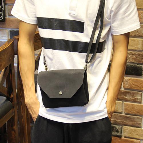 PocoPlus 磨砂包 霧面材質包款 正韓直達 跨肩包 手機包 磁扣小包 休閒款 潮流款【B442】
