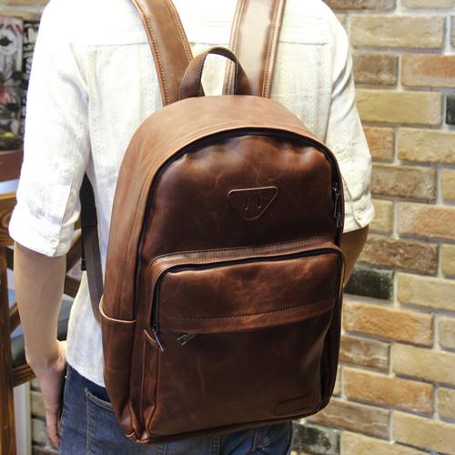 PocoPlus 正韓直達 小豬鼻後背包 潮流包 後背包 簡約 旅行包 電腦包【B470】