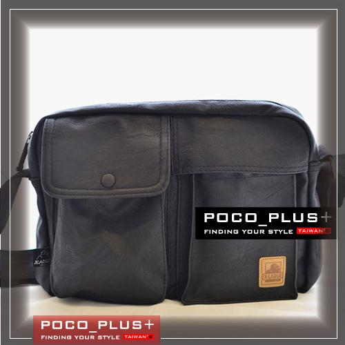 PocoPlus 韓版潮流小包包 男士斜背包 單肩包 旅遊休閒包【B584】