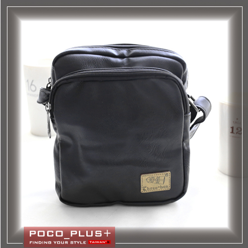 PocoPlus 韓版潮流 休閒男包 時尚包 側背包 斜背包 超質感【B600】