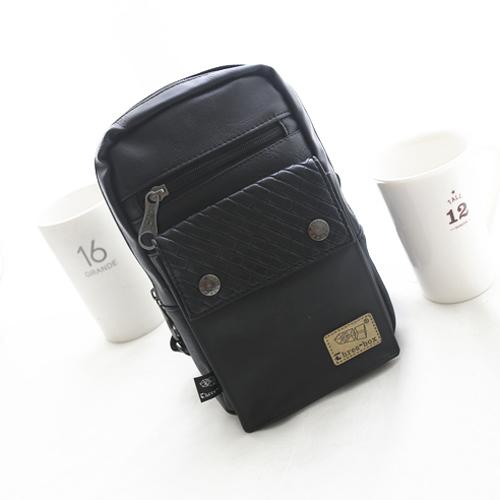 PocoPlus 新款韓版潮流 單肩包 休閒包 時尚小格紋【B605】