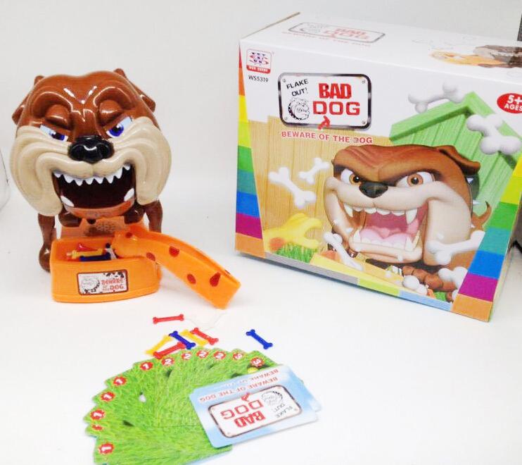 【真愛日本】16031800003 小心惡犬骨頭危機一發 偷骨頭遊戲 玩具 桌遊 猛犬注意 韓國熱銷