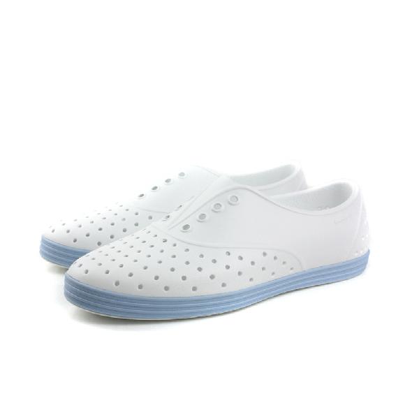 native JERICHO 洞洞鞋 女鞋 白藍色 no408