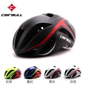 美麗大街【BK105111507】CAIRBULL 內置骨架 碳纖紋 超輕一體自行車安全帽