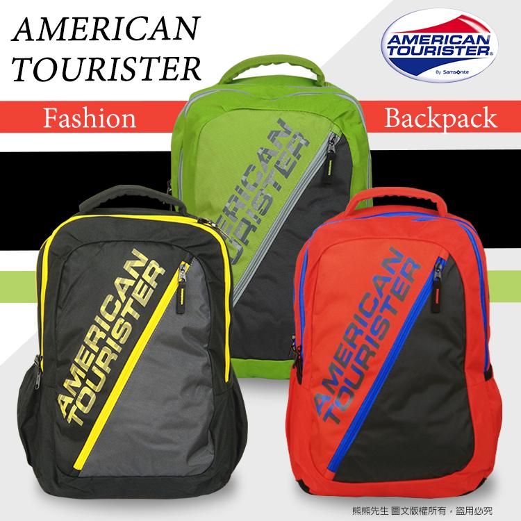《熊熊先生》新秀麗 American Tourister 休閒時尚後背包 00S005 超大容量 雙肩包 旅遊背包 Code