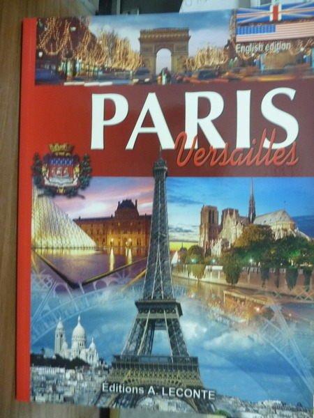 【書寶二手書T2/旅遊_QFH】PARIS:Versailles_A.Leconte
