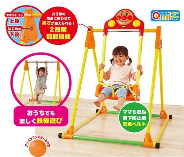 日本麵包超人鞦韆吊單槓組合311749海渡