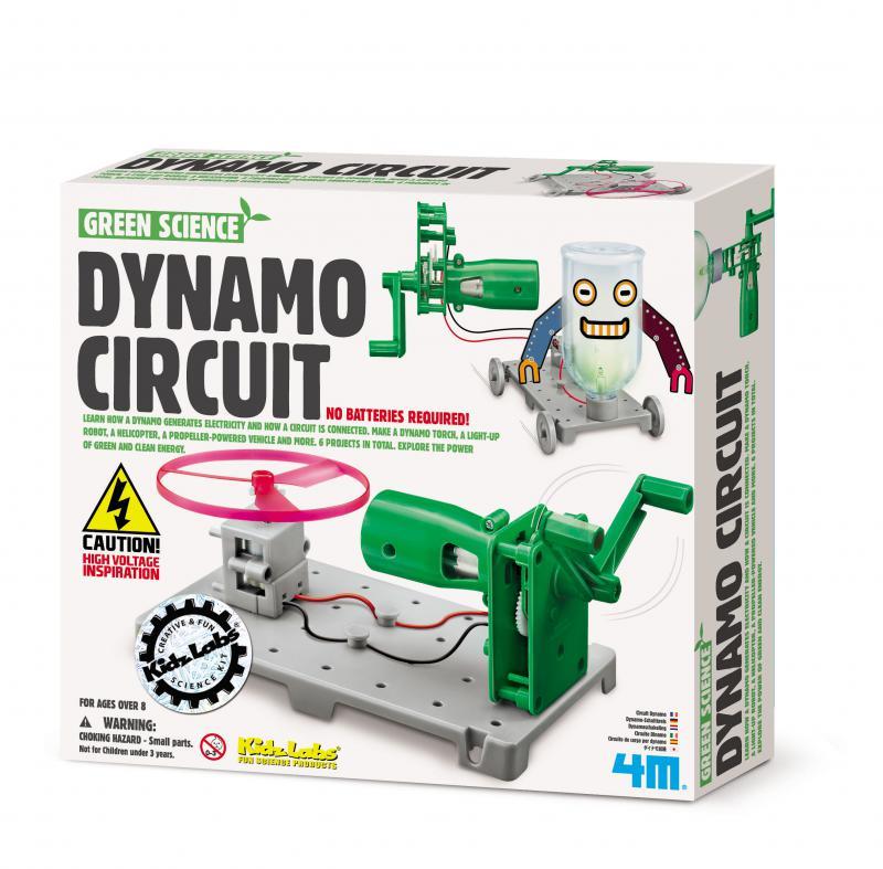 【4M 創意 DIY】00-03361 動力發電裝置 Dynamo Circuit Board