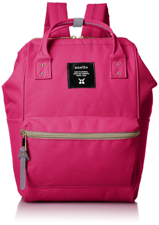 【真愛日本】16071100005anello潮流後背包S-馬卡龍桃SPI   ANELLO 後背包 背包 書包 包包 提包
