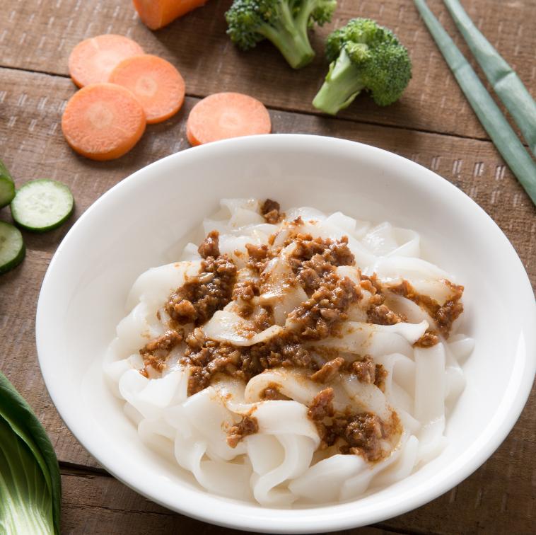 沙茶肉燥粄條 | 國宴指定粄條  | 栗園米食 | 客家風味粄條