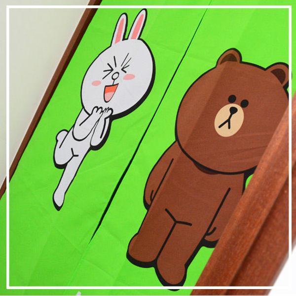 line門簾【可愛、容易拆洗】#我愛熊大