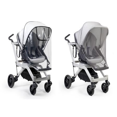 ★衛立兒生活館★Orbit baby 專用雨罩+蚊帳組(適用於orbitbaby G2.G3推車皆適用)