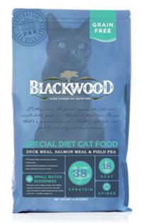 WDJ推薦 Blackwood 柏萊富天然寵糧 特調無穀全齡貓配方(鴨肉+鮭魚+豌豆) 4LB/4磅