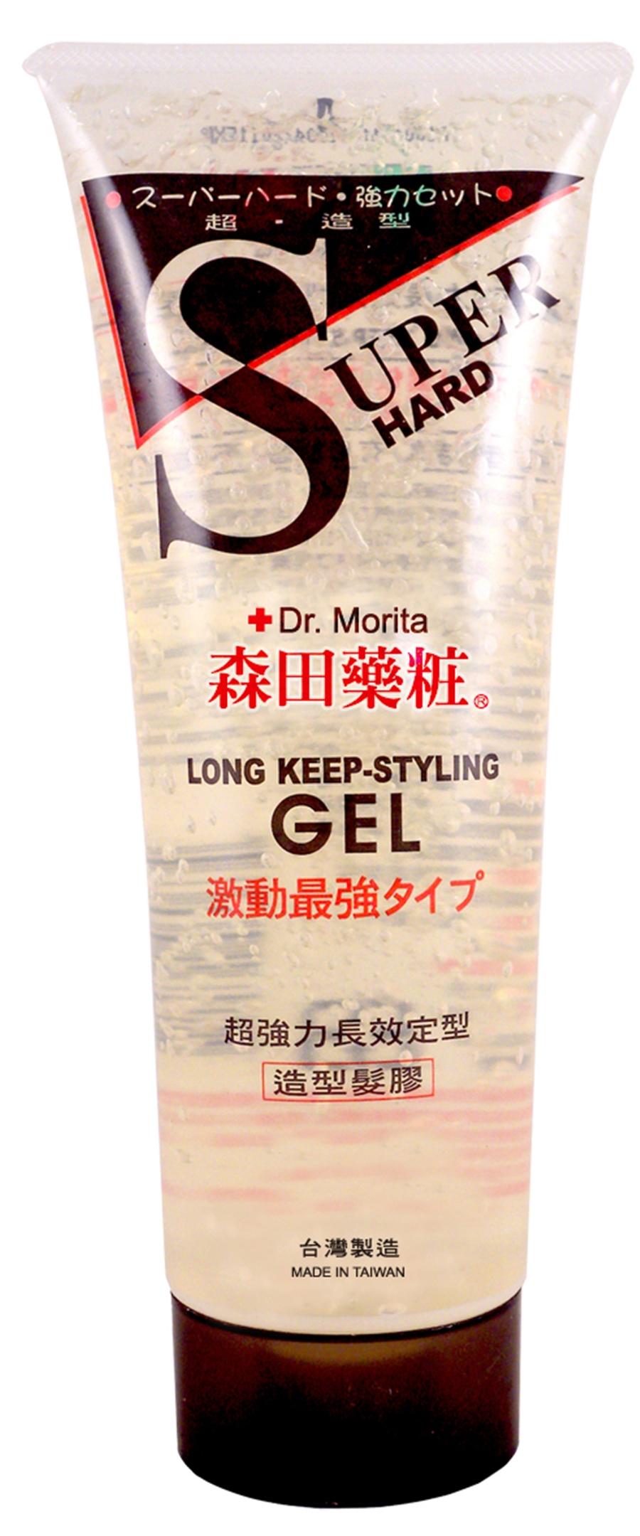 森田藥粧強力造型髮膠250ml  再送 動感塑型造型髮臘(灰)*1