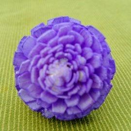 【蘿瑪樂活】手作造型擴香花-茶花(紫色)-小花(直徑約3cm)