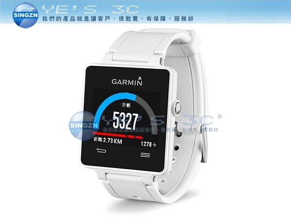 「YEs 3C」全新GARMIN vivoactive GPS vivo 智慧運動手錶 跑步腕錶 白