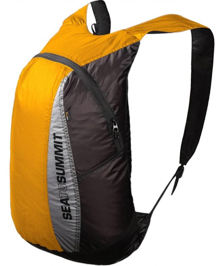 [ Sea to Summit ] Ultra-Sil Day Pack 超輕量矽膠防水背包/攻頂包 20升 AUDPACKYW 黃
