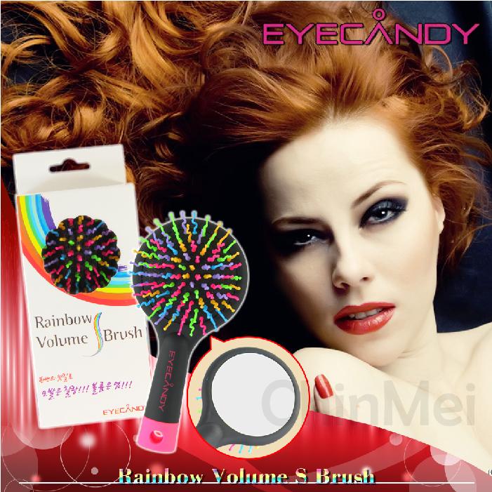 【晴美髮舖】2014 韓國 EYECANDY 最新款 3D豐盈魔法捲捲梳 捲髮梳 彩虹梳 波浪梳 自然捲 造型梳【Chinmei】