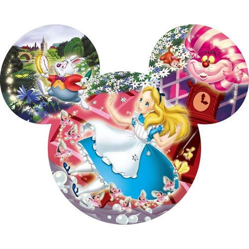 【進口拼圖】迪士尼 DISNEY-米奇頭 愛麗絲夢遊仙境 - 151 pcs DSM-151-214