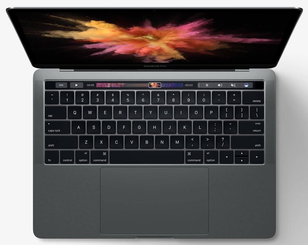 「預購」Apple 蘋果 2016 MacBook Pro Retina 13吋/2.0GHz/8G/256G SSD 太空灰色(MLL42TA/A)