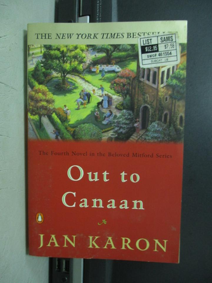 【書寶二手書T9/原文小說_NMO】Out to canaan_Jan karon