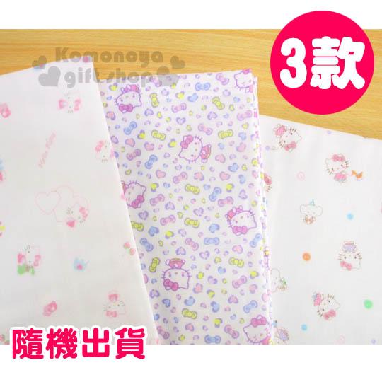〔小禮堂嬰幼館〕台灣 佳美 Hello Kitty 紗布浴巾《白.玩具滿版.2款.隨機出貨》也可當包巾的正方形