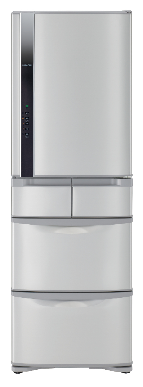 【HITACHI日立】日本原裝變頻420L。五門電冰箱/星燦不銹鋼(RS42FJ)