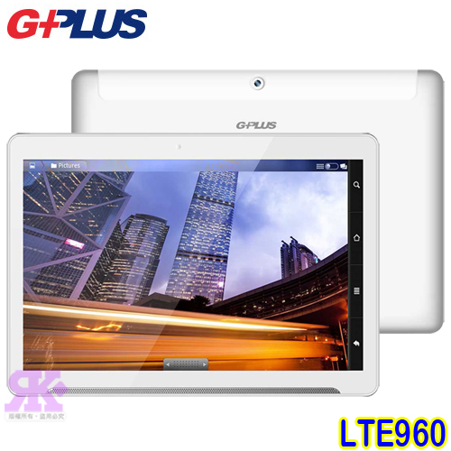 GPLUS LTE960 4G四核智慧平板手機-贈(專用皮套+保護貼-盒內附)+手機/平板支架+韓版收納包+奈米噴劑