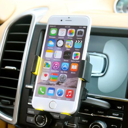 汽車CD插槽式懶人支架 360度旋轉 手機導航 車用車架 固定架 iPhone 6 + HTC 三星 SONY【N200750】