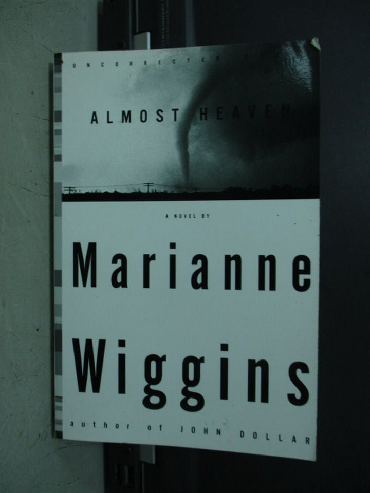【書寶二手書T7/原文小說_LOW】Almost Heaven_Marianne wiggins