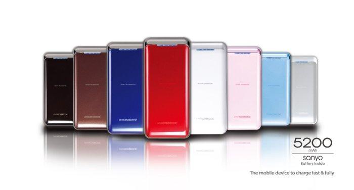 PROBOX 5200行動電源 台製 日本SNAYO電芯 紅藍兩色