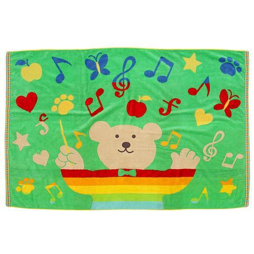 *新品上市*日本製*日本空運來台 RAINBOW BEAR 彩虹熊 92*145毛巾被