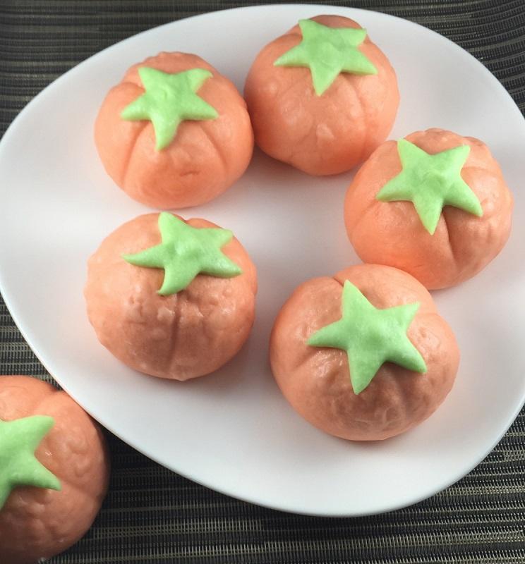 《御欣坊人氣美食》番茄紅豆包(紅豆餡)(純素)(10粒/包)