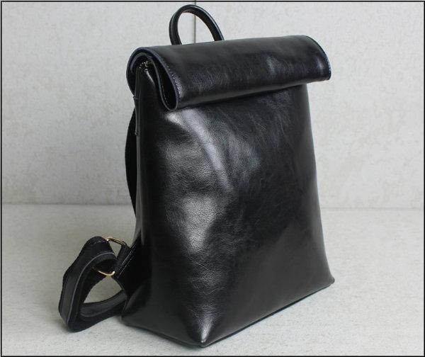☆T-HOMME☆JAPAN&KOREA 復古手工製正牛皮 拳擊包  油面處理光澤感 真皮後背包