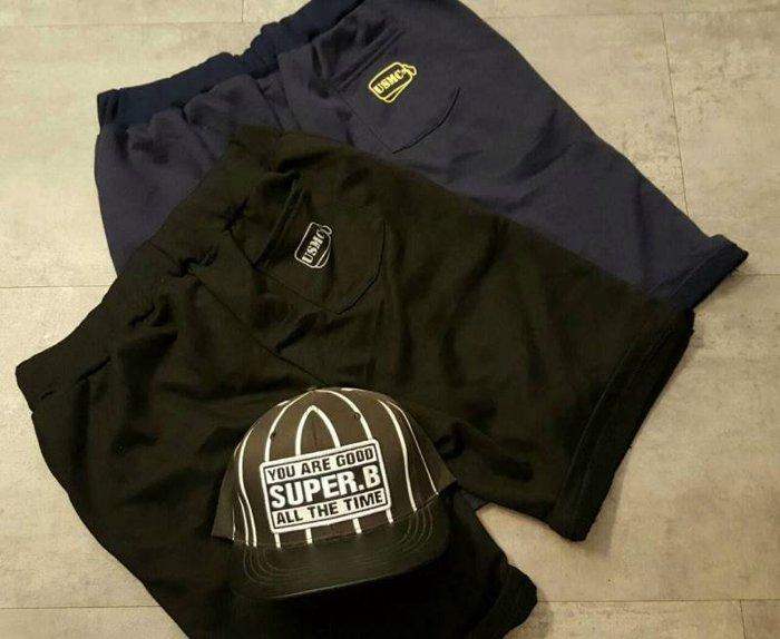 【My style】美國海軍陸戰隊短棉褲。藍/黑,M/L/XL