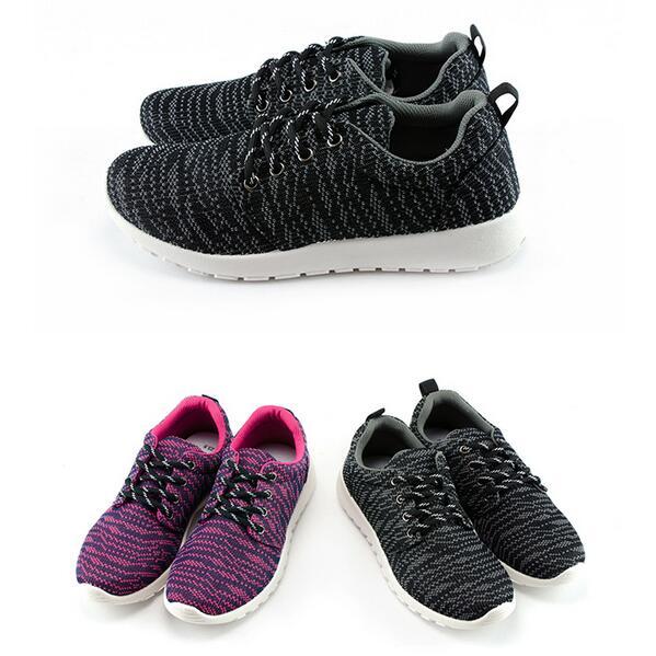 【My style】富發牌-S134 造型織紋慢跑鞋 灰.桃,23-25號。任兩雙免運