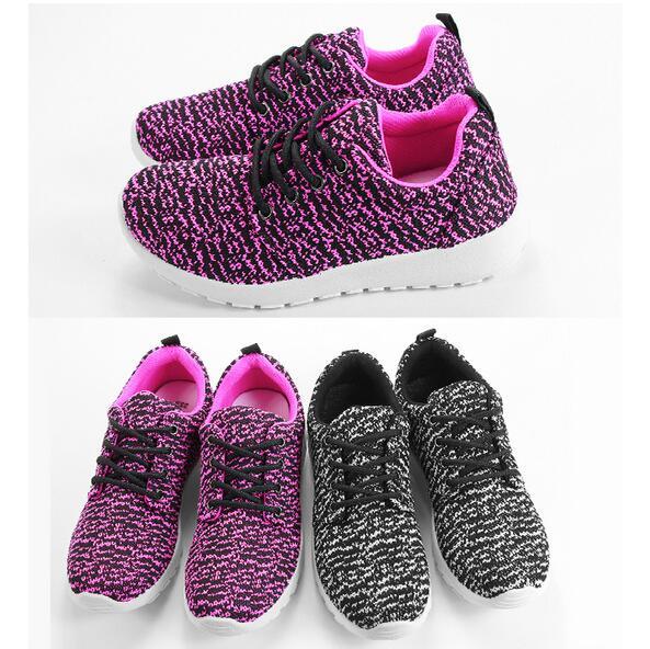 【My style】富發牌-S135 濃彩織紋休閒慢跑鞋 桃.黑,23-25號。任兩雙免運