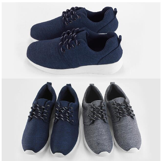 【My style】富發牌-R37 經典刷色慢跑鞋 黑.藍,23-25號。任兩雙免運