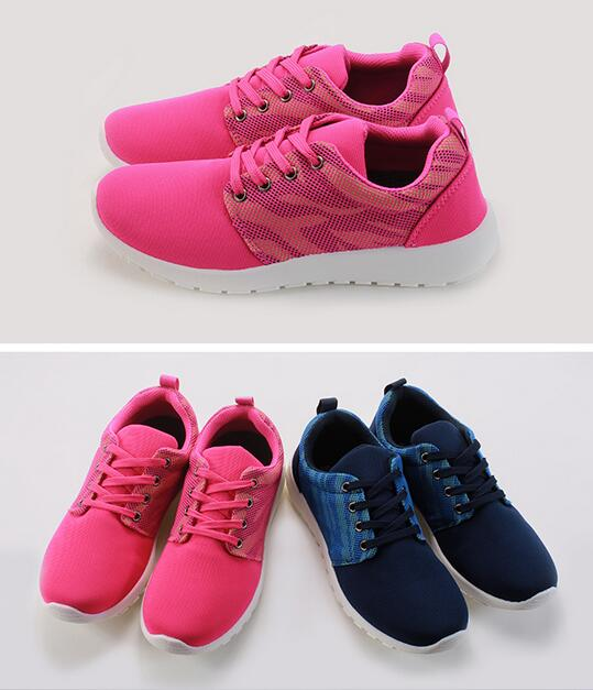 【My style】富發牌-S136 迷彩拼接慢跑鞋 藍/綠、桃/綠,23-25號。任兩雙免運