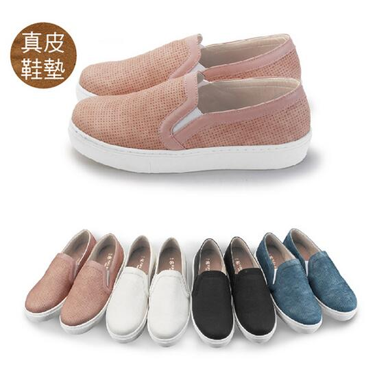 【My style】富發牌FR31~日系素色便鞋(黑.白.粉.牛仔藍)23-25號-任兩雙免運