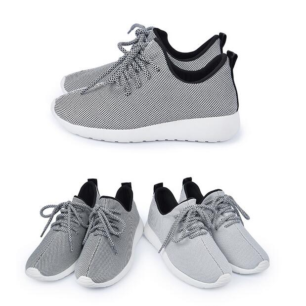 【My style】富發牌R74網布輕量慢跑鞋(黑.灰)23-25號-任兩雙免運