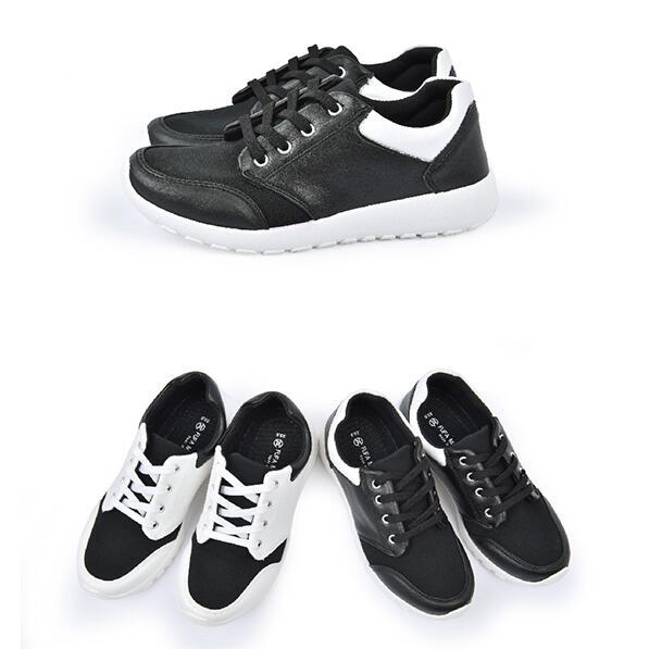 【My style】富發牌TF01復刻經典慢跑鞋(黑/白、黑)23-25號-任兩雙免運
