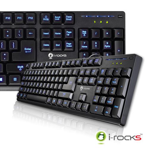 i-Rocks背光遊戲鍵盤KR6260E