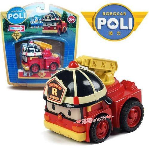 【曙嘻sooth】POLI 波力救援小英雄-合金車系列-羅伊/ROBOCAR POLI 波力 救援小英雄/可愛造型