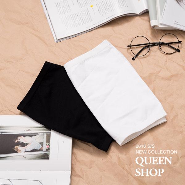 Queen Shop【01041425】無縫平口小可愛 長短版兩色售 特價 *現貨+預購*